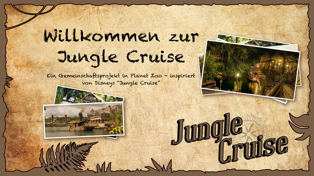 Jungle Cruise - Planet Zoo - EinfachTommy